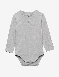 Body - manches longues - grey melange