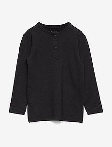 T-shirt - long-sleeved t-shirts - black