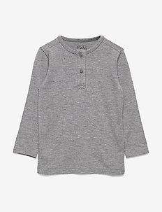 T-shirt - langærmede t-shirts - grey melange