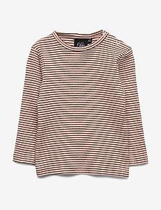 T-shirt - langærmede t-shirts - cameo r/blk