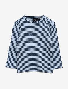 T-shirt - langærmede t-shirts - mist/blk