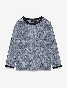 T-shirt - lange mouwen - mist