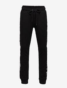 Pants - sweatpants - black