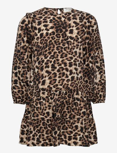 Dress - kleider - leopard