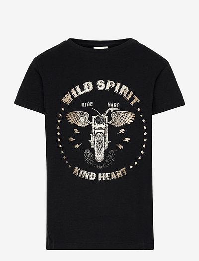 T-shirt - kurzärmelige - black