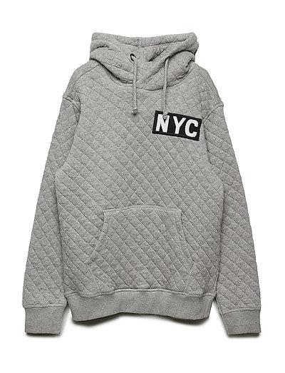 Sweat hoodie NYC - GREY MELANGE