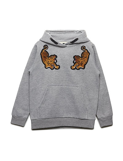 Sweat hoodie - GREY MELANGE