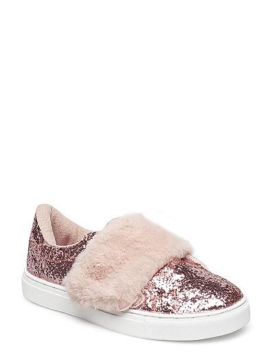 Shoe fur - ROSE