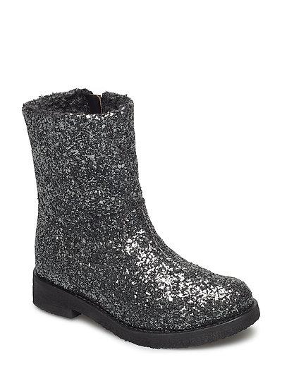 Glitter boot - ANTRACITE