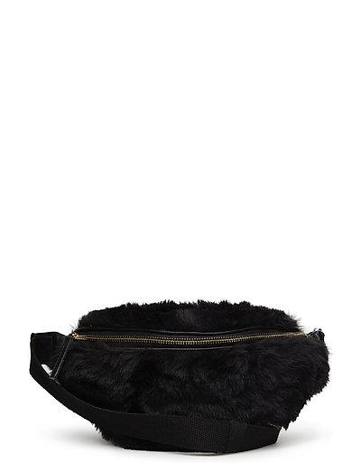 Bumbag fake fur - BLACK