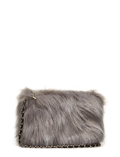 Bag fake fur - GREY