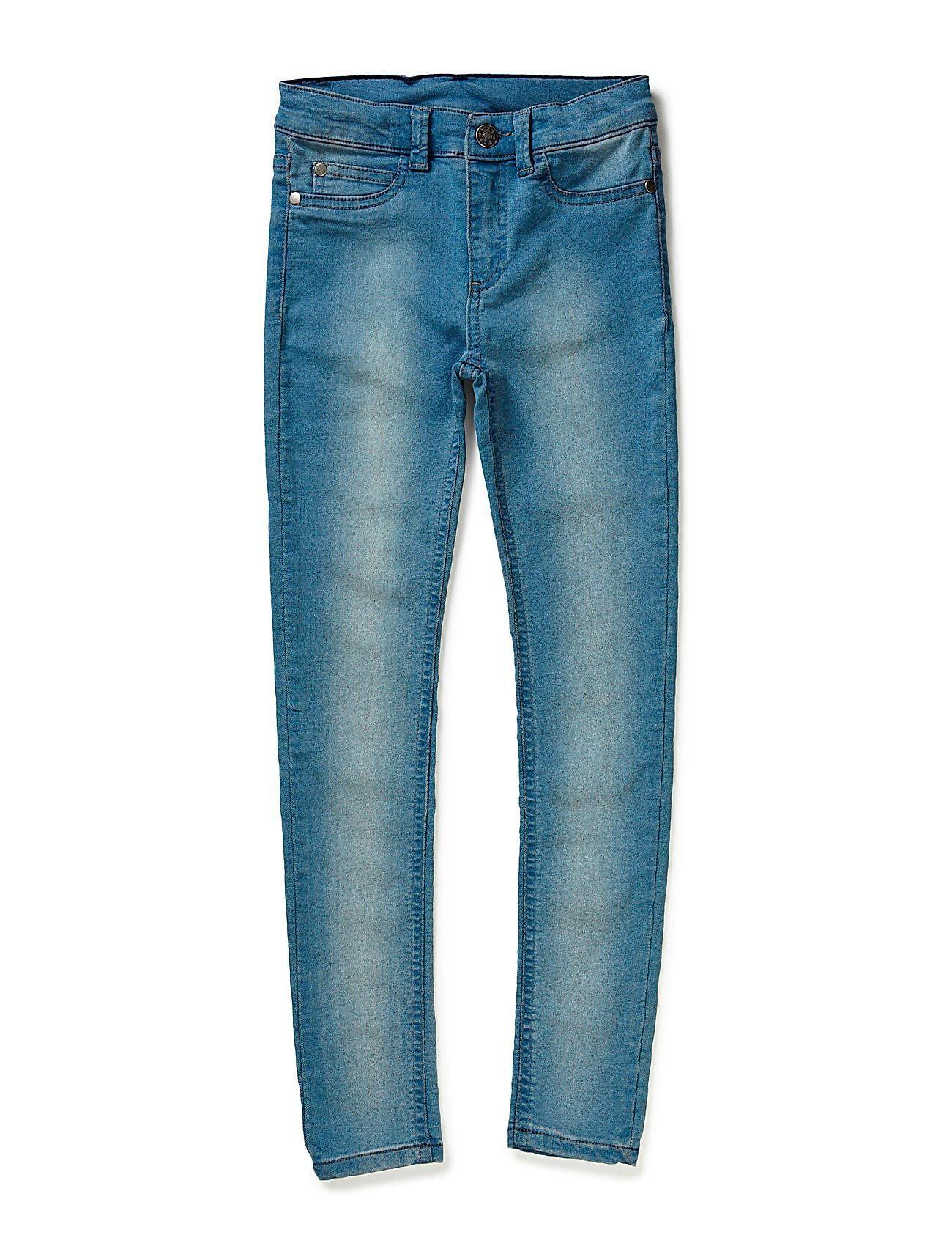 PETIT by Sofie Schnoor denim leggings - BLUE WASH