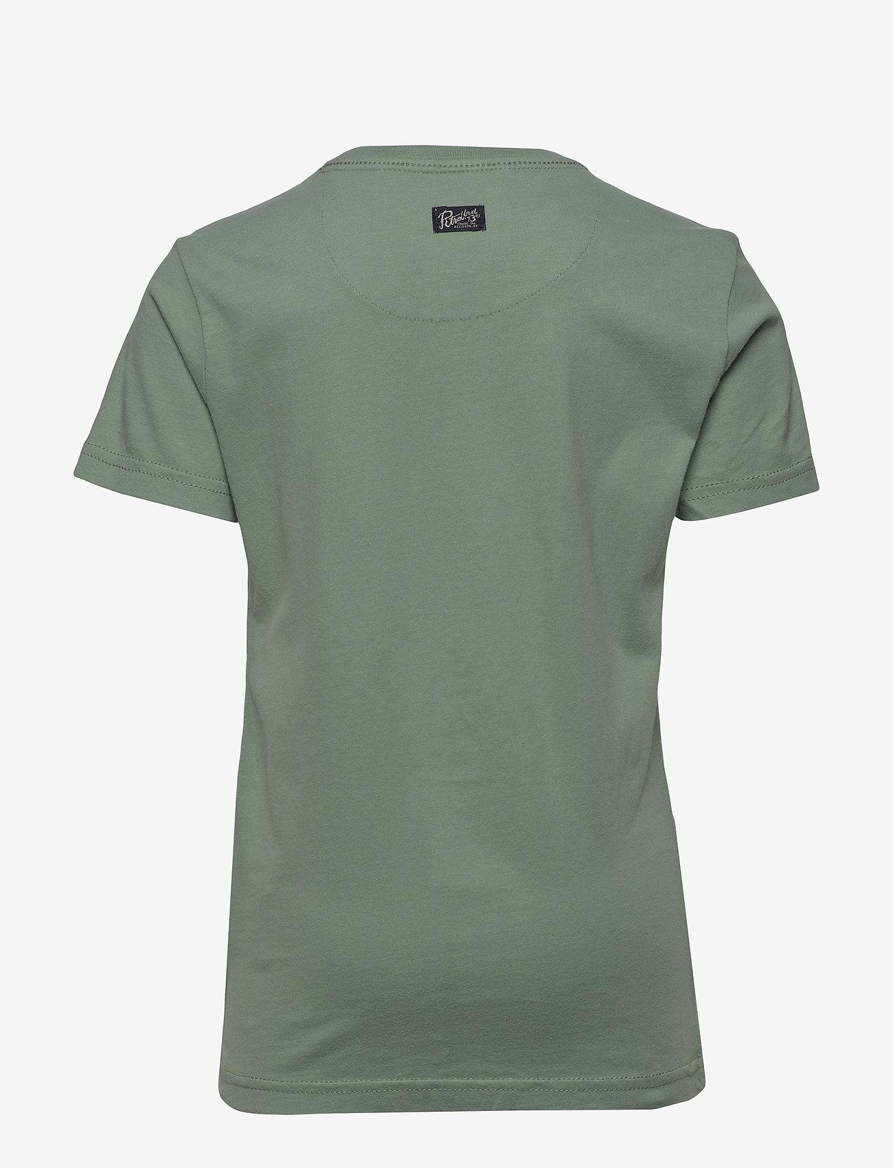 Petrol T-shirt Ss-r-neck - Överdelar Light Pine