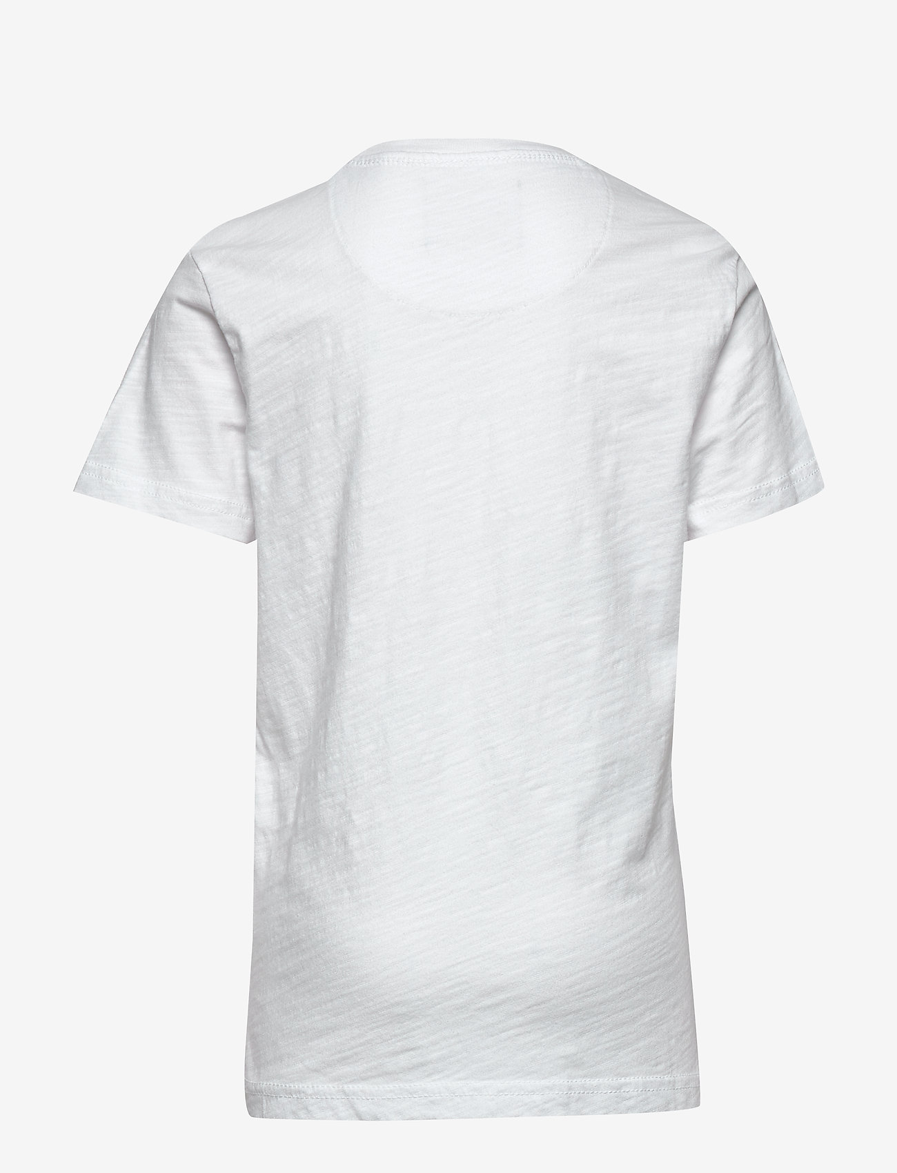 Petrol T-shirt Ss R-neck - Överdelar Bright White