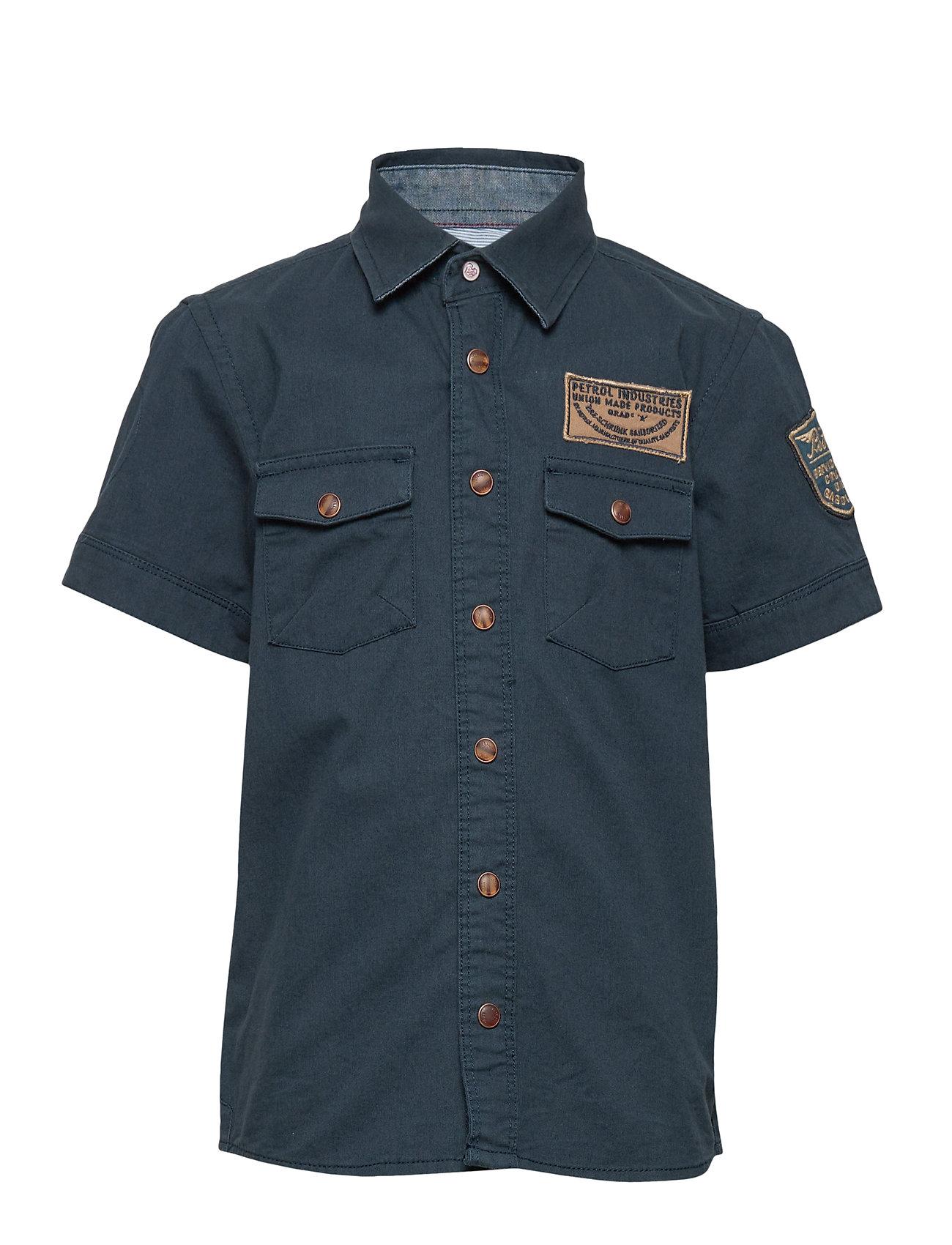 Petrol Shirt SS - DEEP NAVY