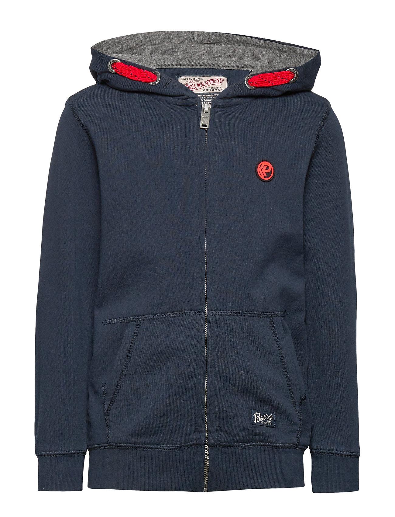 Petrol Sweater Hooded - DEEP NAVY