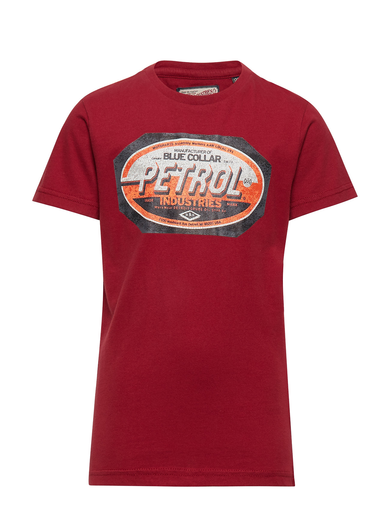 Petrol T-Shirt SS R-Neck - BIKING RED