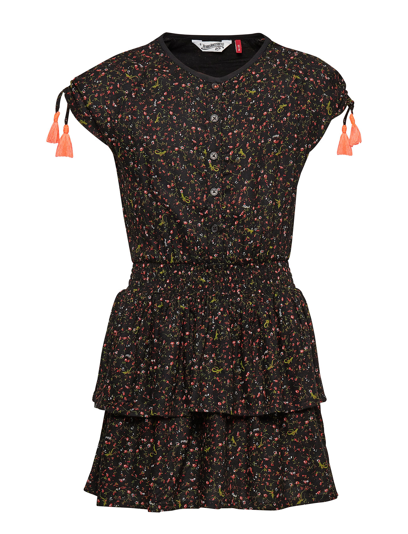 Petrol Dress - BLACK