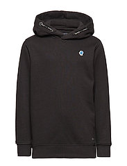 Sweater Hooded - BLACK