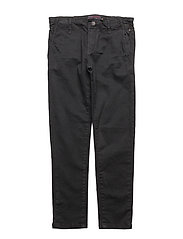 Trousers - BLACK NAVY