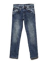 Slim fit super strecht jeans. - NATURAL FADED
