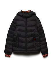 Boys Jacket Padded - BLACK
