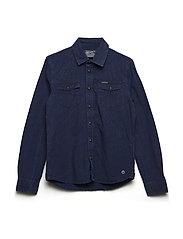 Shirt LS - DARK INDIGO