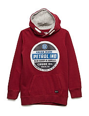 Sweater Hooded - BIKING RED
