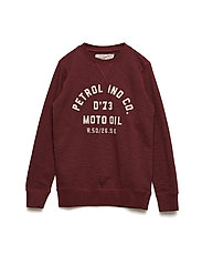 Sweater R-Neck - BURGUNDY