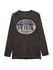 T-Shirt LS R-Neck - CRUDE OIL