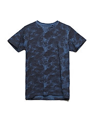 T-Shirt SS R-Neck - PETROL BLUE