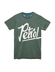 T-Shirt SS R-Neck - NIGHT GREEN