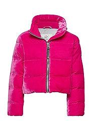 Girls Jacket Puff - MAGENTA