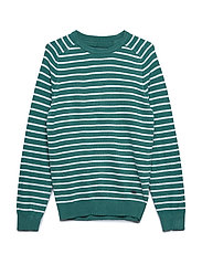 Knitwear R-Neck - GREEN
