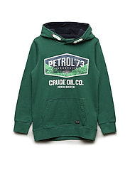 Sweater Hooded - GREEN