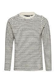 Sweater R-Neck - ANTIQUE WHITE