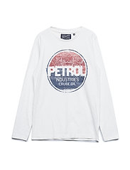 T-Shirt LS R-Neck - ANTIQUE WHITE
