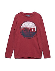 T-Shirt LS R-Neck - MAROON
