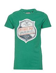 T-Shirt SS R-Neck - BRIGHT GREEN