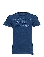 T-Shirt SS R-Neck - DARK INDIGO