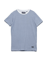 T-Shirt SS R-Neck - CHALK WHITE