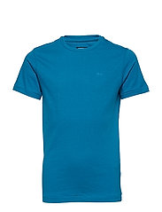 T-Shirt SS R-Neck - FADED TURQUOISE
