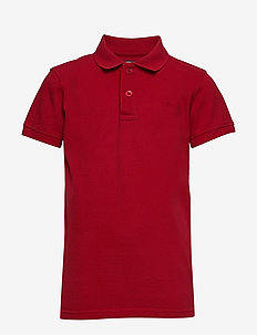 Polo SS - polo shirts - fire red