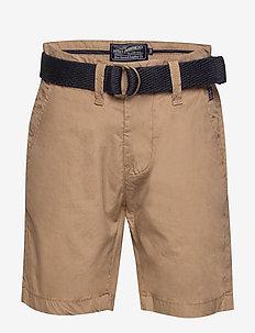 Short chino - shorts - dark tobacco