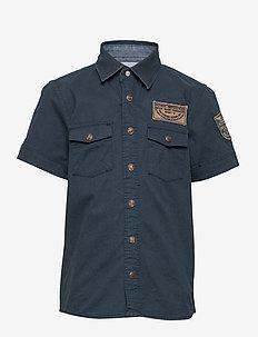 Shirt SS - shirts - deep navy