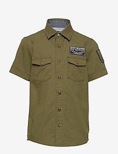 Shirt SS - shirts - greenstone