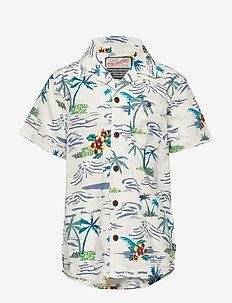 Shirt SS - overhemden - winter white