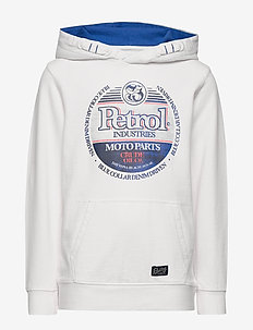 Sweater Hooded - hoodies - chalk white