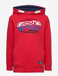 Sweater Hooded - hoodies - imperial red