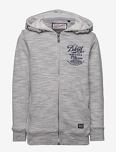 Sweater Hooded - hoodies - light grey melee